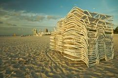 Cadeiras de SoBe Foto de Stock