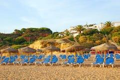 Cadeiras de Sun Imagens de Stock