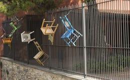 Cadeiras de suspensão Foto de Stock Royalty Free
