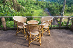 Cadeiras do abrandamento Imagens de Stock