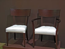 Cadeiras do braço imagens de stock