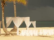 Cadeiras do casamento Foto de Stock Royalty Free