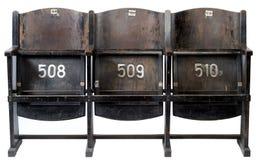 Cadeiras do cinema Foto de Stock