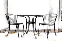 Cadeiras do contraste elevado foto de stock