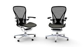 Cadeiras do escritório Fotografia de Stock