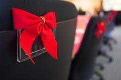 Cadeiras do escritório no partido de trabalho do feriado Imagem de Stock