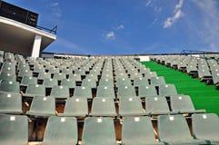 Cadeiras do estádio Foto de Stock