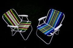 Cadeiras do pátio Imagens de Stock