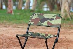 Cadeiras do piquenique Imagem de Stock