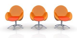 Cadeiras do projeto Imagens de Stock