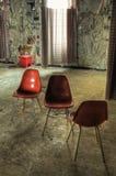 Cadeiras do quarto de hospital Fotografia de Stock