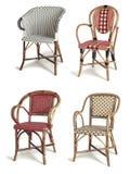 Cadeiras do Rattan Fotografia de Stock