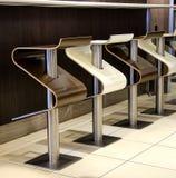 Cadeiras do restaurante Imagem de Stock Royalty Free