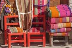 Cadeiras e tissuess. Imagem de Stock Royalty Free