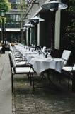 Cadeiras em ao ar livre Foto de Stock