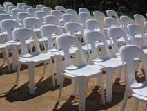 Cadeiras em seguido Imagens de Stock Royalty Free