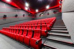 Cadeiras em um teatro Imagens de Stock Royalty Free