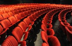 Cadeiras em um teatro Foto de Stock Royalty Free