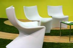 Cadeiras futuristas imagem de stock