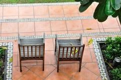 Cadeiras gêmeas Imagens de Stock Royalty Free