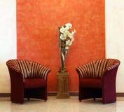 Cadeiras. Hotel. Foto de Stock Royalty Free