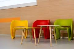 cadeiras modernas coloridas Imagem de Stock Royalty Free