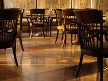 Cadeiras na luz da manhã Imagem de Stock Royalty Free