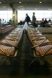 Cadeiras no aeroporto Foto de Stock