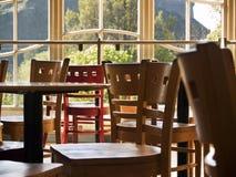Cadeiras no café Foto de Stock