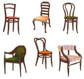 Cadeiras. ilustração stock