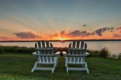 Cadeiras para dois Imagem de Stock