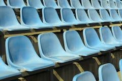 Cadeiras plásticas Fotos de Stock Royalty Free