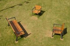 Cadeiras sós Foto de Stock