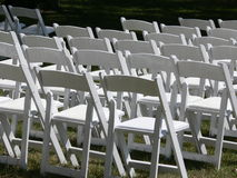 Cadeiras vazias Fotos de Stock