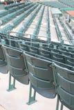 Cadeiras verdes fotografia de stock
