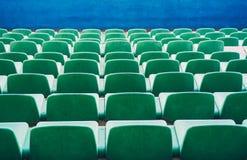 Cadeiras verdes imagens de stock royalty free