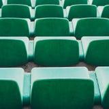 Cadeiras verdes Foto de Stock Royalty Free