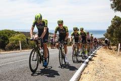 Cadel Evans Great Ocean Road Race - Elitemensen royalty-vrije stock fotografie
