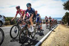 Cadel Evans Great Ocean Road Race - hommes d'élite photo stock