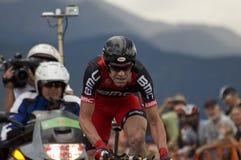 Cadel Evans, USA-Proeinen.kreislauf.durchmachenherausforderung Lizenzfreies Stockbild