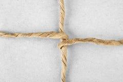 Cadena atada en un arqueamiento Fotos de archivo libres de regalías