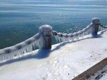 Cadena congelada Imagenes de archivo