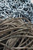 Cadena de la cuerda imagen de archivo