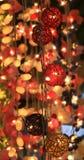 Cadena de luces imagen de archivo libre de regalías