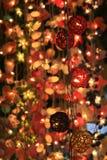 Cadena de luces fotos de archivo