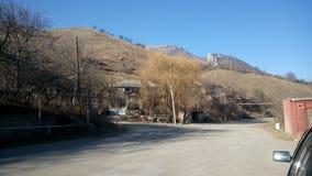 Cadena de montaña en Lorri armenia Imagenes de archivo
