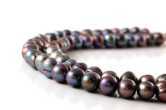 Cadena de perlas imagen de archivo