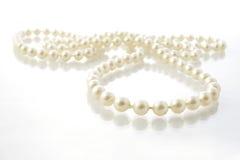 Cadena de perlas Imágenes de archivo libres de regalías