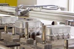 Cadena de producción de la fábrica Foto de archivo libre de regalías