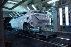 Cadena de producción del coche Imagenes de archivo